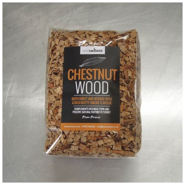 HOT SMOKED CHESTNUT WOOD CHIPS