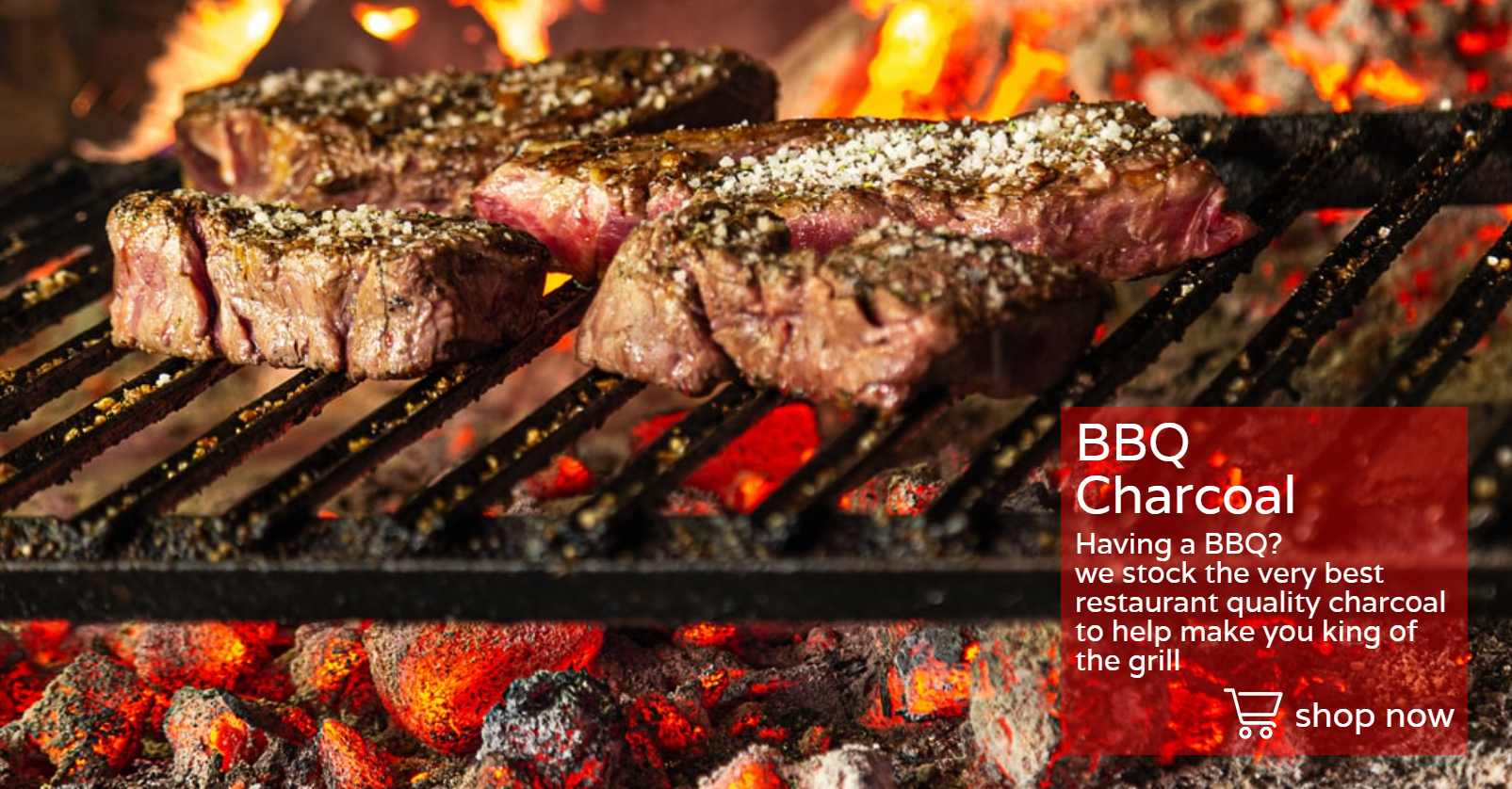 BBQ charcoal for sale in Halifax and Huddersfield